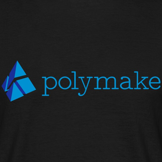 polymake men's t-shirt (blue)