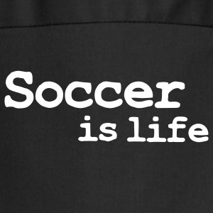 soccer is life  Aprons - Cooking Apron