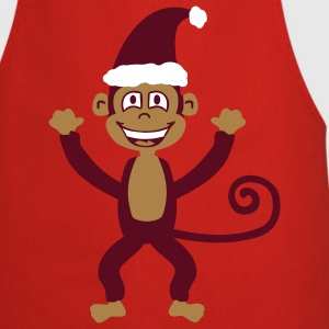 Christmas Monkey  Aprons - Cooking Apron