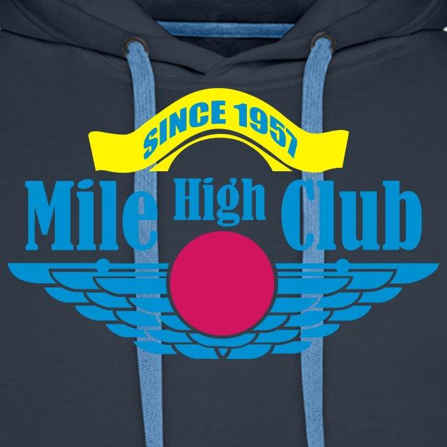 Mile High Club men Hoody