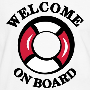 welcome_on_T-Shirts - Männer Kontrast-T-Shirt