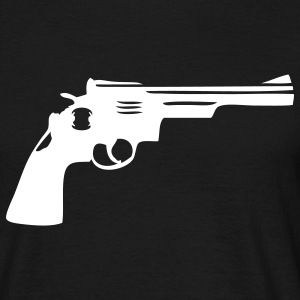 Gun turret gun Gun Weapon Men's T-Shirts - Men's T-Shirt
