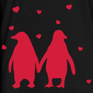 Penguins in love - love each other penguins Men's T-Shirts - Men's T-Shirt