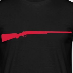 Sniper sniper rifle weapon machine gun T-Shirts - Men's T-Shirt