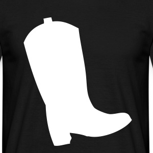 Bottes Bottes Western Cowboay T-shirts - T-shirt Homme