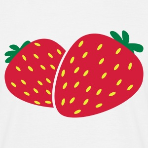 fraises Strawberry baies T-shirts - T-shirt Homme