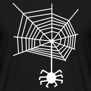 Spider web spiderweb Spider T-Shirts - Men's T-Shirt