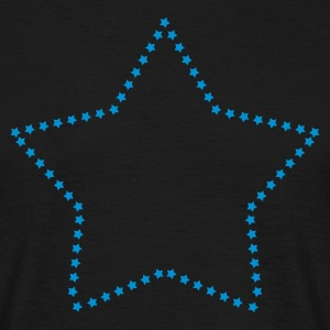 Star figure pattern T-Shirts - Men's T-Shirt