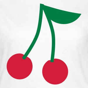 Kirsche Kirschen - Cherry cherries T-Shirts - Frauen T-Shirt
