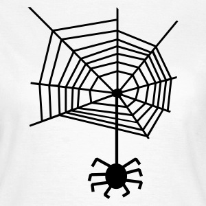 Spider web spiderweb Spider T-Shirts - Women's T-Shirt
