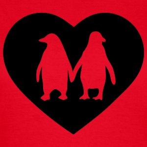 Penguins in love - love each other penguins Women's T-Shirts - Women's T-Shirt