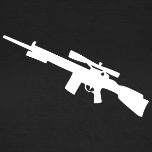 Sniper sniper rifle weapon gun machine gun Gun Weapon Women's T-Shirts - Women's T-Shirt