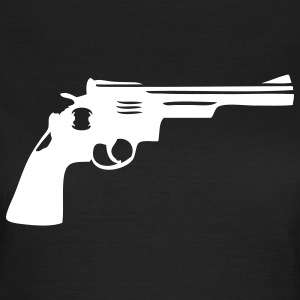 Gun Gun Weapon tourelle T-shirts - T-shirt Femme