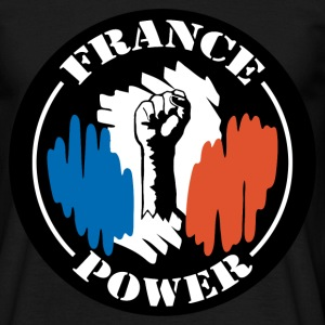 France Power T-shirts - T-shirt Homme