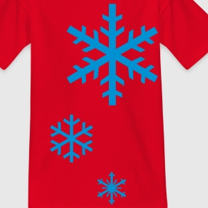 SNOWFLAKES Kids' Shirts - Teenage T-shirt
