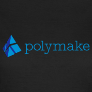 Design ~ polymake women's t-shirt (blue)