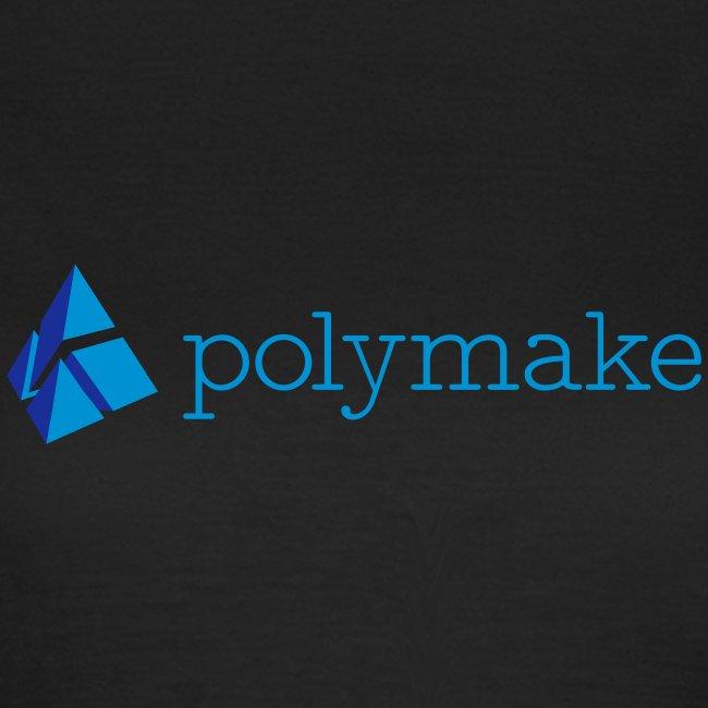 polymake women's t-shirt (blue)