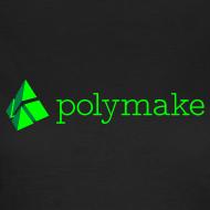 Design ~ polymake women's t-shirt (green)