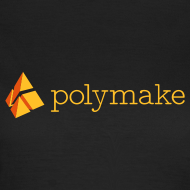 Design ~ polymake women's t-shirt (orange)