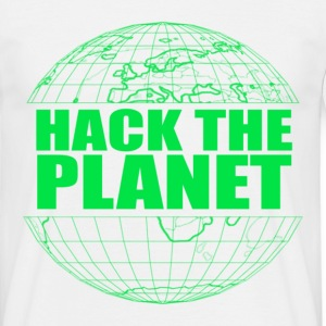 Hack The Planet T-Shirts - Men's T-Shirt
