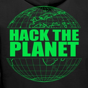 Hack The Planet Hoodies & Sweatshirts - Men's Premium Hoodie