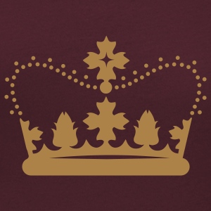 Royal crown T-Shirts - Women's Scoop Neck T-Shirt