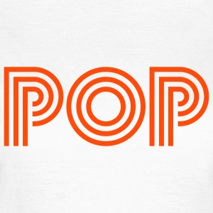 pop T-shirts - Vrouwen T-shirt