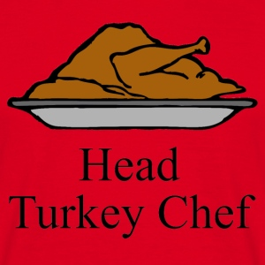 Head Turkey Chef T-Shirts - Men's T-Shirt