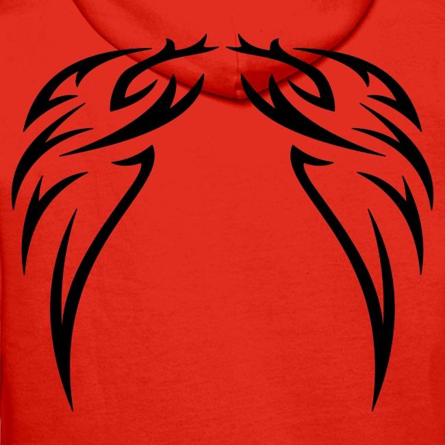 Wings Kaputzenpullover