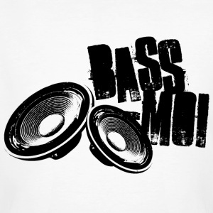 bass-moi baise-moi bass lautsprecher speaker soundsystem T-shirts - Mannen Bio-T-shirt