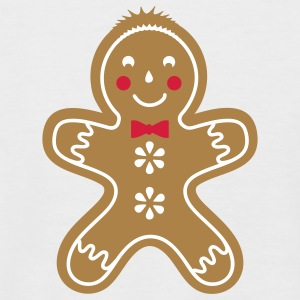 yummy funny gingerbread man T-Shirts - Men's Baseball T-Shirt