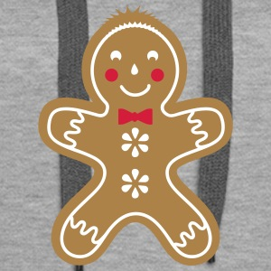 yummy funny gingerbread man Hoodies & Sweatshirts - Women's Premium Hoodie