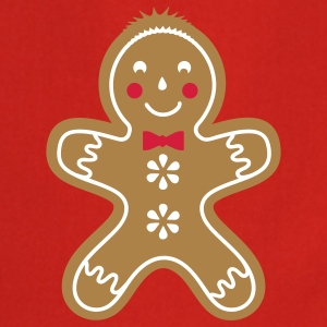 yummy funny gingerbread man  Aprons - Cooking Apron