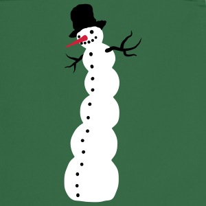 Green snowman  Aprons - Cooking Apron