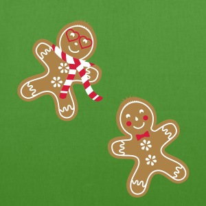 yummy funny gingerbread man Bags  - EarthPositive Tote Bag