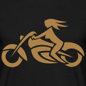 Biker Chick Men's T-Shirt - Men's T-Shirt