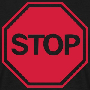 stop sign T-Shirts - Men's T-Shirt
