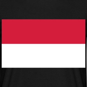 indonesia flag T-shirts - Herre-T-shirt