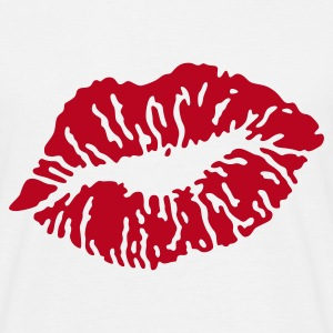 Kussmund / Kissing Lips, T-Shirt - Männer T-Shirt