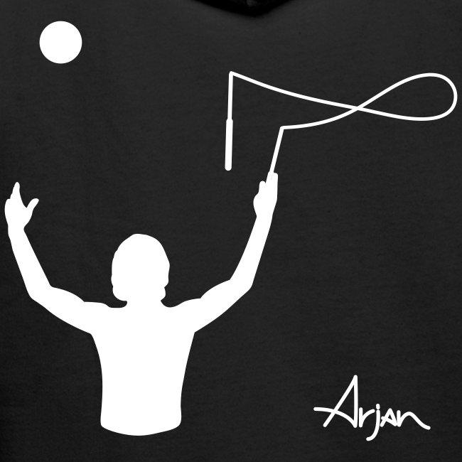 Arjan Throw Across Hoodie (Pick your colour)