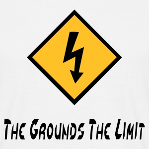The Grounds The Limit - Men's T-Shirt