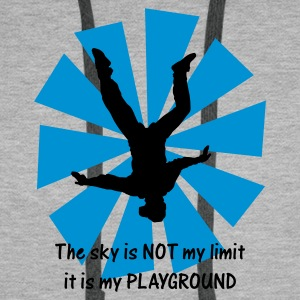 The sky is NOT my limit it is my PLAYGROUND - Men's Premium Hoodie