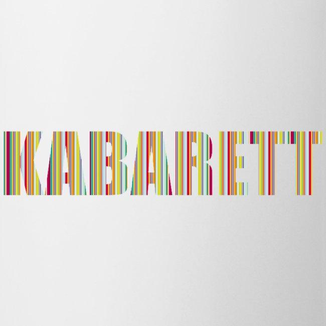 Kabarett-Tasse Streifen