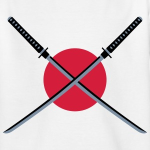 samurai_schwert_japan_3c Kinder T-Shirts - Teenager T-Shirt