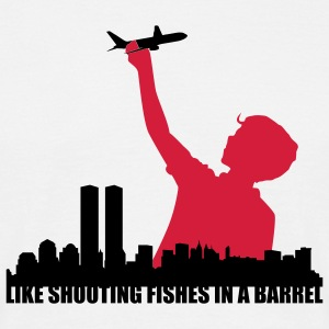 shooting fishes in a barrel T-Shirts - Männer T-Shirt
