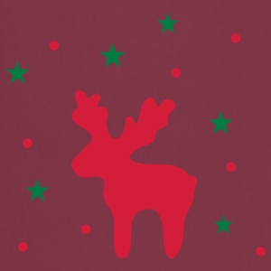 Reindeer and stars  Aprons - Cooking Apron