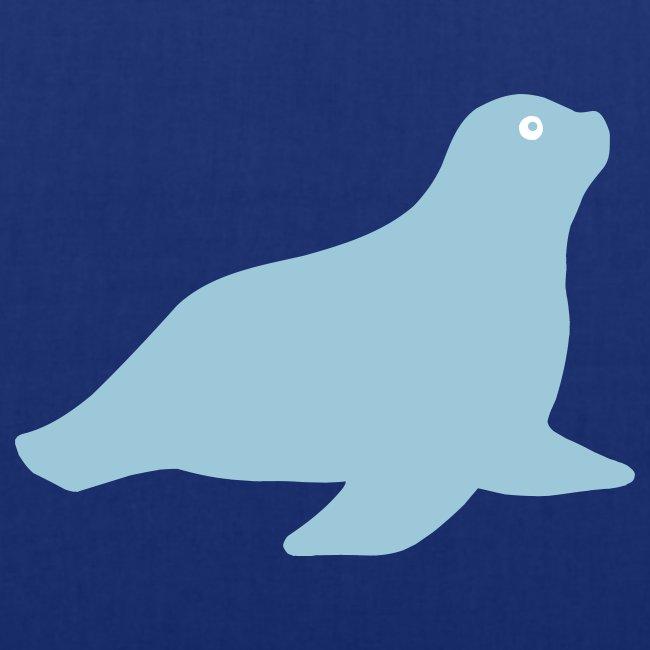 Seehund-Tasche