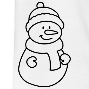 Schneemann Kinder T-Shirts - Teenager T-Shirt