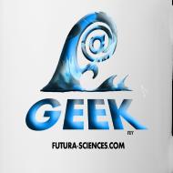 Motif ~ Mug geek wave bleu