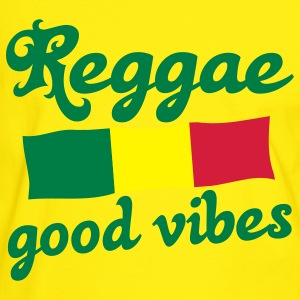 reggae good vibes T-shirts - T-shirt contraste Homme